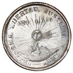 Guerrero, Mexico, 2 pesos, 1915-GRO, NGC UNC details / obv spot removed, ex-Jones.