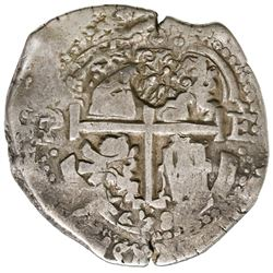 "Brabant, Spanish Netherlands, 48 patards, ""Golden Fleece"" countermark (1652-72) on a Potosi, Bolivia"