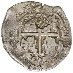 "Brabant, Spanish Netherlands, 48 patards, ""Golden Fleece"" countermark (1652-72) on a Potosi, Bolivia"