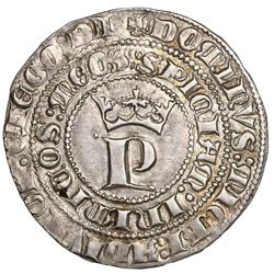 "Seville, Spain (Castile and Leon), 1 real, Pedro I (""the Cruel,"" 1350-69), ex-Jones (Plate Coin)."