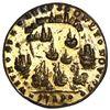 Image 2 : Great Britain, small-size copper-alloy Admiral Vernon medal, 1739, Porto Bello, Vernon alone, ex-Ada