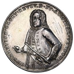 Great Britain, silver Admiral Vernon medal, 1739, Porto Bello, Vernon alone, very rare, ex-Adams, ex