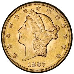 USA (San Francisco Mint), Liberty Head $20, 1897-S.