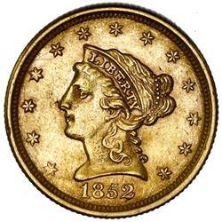 USA (Philadelphia Mint), Liberty Head $2-1/2, 1853, NGC AU 58.