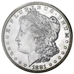 USA (San Francisco mint), Morgan dollar, 1881-S, PCGS MS67.