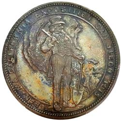 """USA, Panama-California Exposition, official silver medal (""""so-called dollar""""), 1915, Uncle Sam / S.S"""