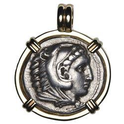 "Kingdom of Macedon, AR tetradrachm, Alexander III (""the Great""), 336-323 BC, early posthumous issue,"