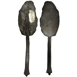 Small silver spoon, ex-Atocha (1622).