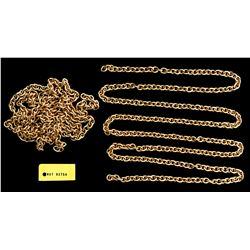 Gold chain, 277 solid links, 91.2 grams, ex-Santa Margarita (1622).