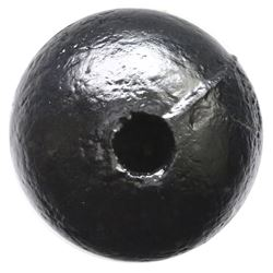 Iron cannonball grenade (three-pounder), conserved and intact, ex-1715 Fleet.