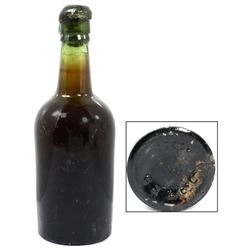 Intact and sealed bottle of beer, ex-Empress of Ireland (1914), ex-Bart Malone.