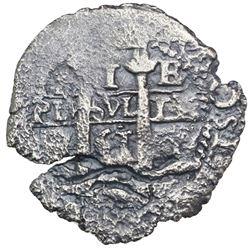 Potosi, Bolivia, cob 1 real, 1661E.