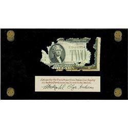 USA, legal tender, $2, series 1928F, serial D39444881A, Julian-Snyder, rare, ex-Malone.