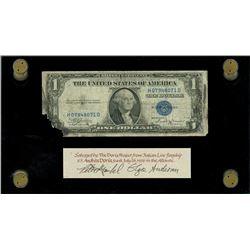 USA, silver certificate, $1, series 1935B, serial H07948071D, Julian-Vinson, ex-Malone.