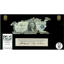 USA, silver certificate, $1, series 1935E, serial W62953905H, Priest-Humphrey, PCGS Grade C, ex-Malo
