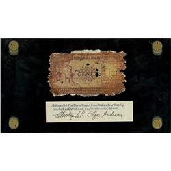 Italy, Repubblica Italiana, 100 lire, date not visible (1951), serial 2879 043643, ex-Malone.