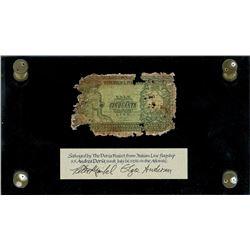 Italy, Repubblica Italiana, 50 lire, date not visible (1951), 2819 027832, ex-Malone.
