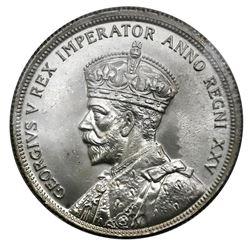 Canada (Ottawa mint), dollar, George V, 1935, 25th anniversary of his reign, ICCS MS-64.