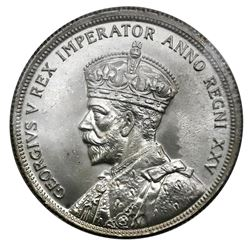 Canada (Ottawa mint), dollar, George V, 1935, 25th anniversary of his reign, ICCS MS-64.