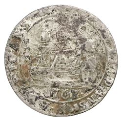 Danish West Indies, 6 skilling, Christian VII, 1767.
