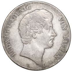 Bavaria (German States), taler, 1837, Ludwig I.