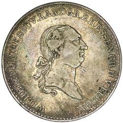 Hesse-Cassel (German States), taler, 1819, Wilhelm I.