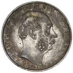 Mecklenburg-Schwerin (German States), taler, 1864-A, Friedrich Franz II, ex-Collier.