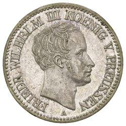 Prussia (German States), mining taler, 1828-A, Friedrich Wilhelm III.