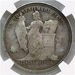 Honduras, 50 centavos, 1910/00, NGC VG 10, very rare, ex-O'Brien.