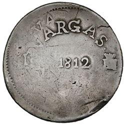 Sombrerete de Vargas, Mexico, 8 reales, Ferdinand VII, 1812.