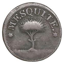 Aguascalientes, Mexico, copper token, no date (ca. 1850), Baja California Norte.