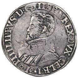 Gelderland, Spanish Netherlands (Nijmegen mint), philipsdaalder, Philip II, 1561.