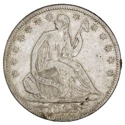USA (New Orleans Mint), Seated Liberty half dollar, 1853-O, arrows and rays, ex-Tuscaloosa Hoard (Ci