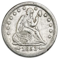USA (New Orleans Mint), Seated Liberty quarter dollar, 1853-O, arrows and rays, ex-Tuscaloosa Hoard