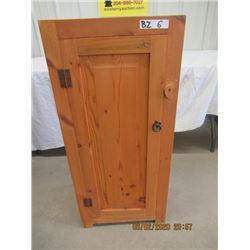 "Pine Cabinet H 39"" W 18"" D 12"""