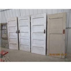 Vintage Painted Doors