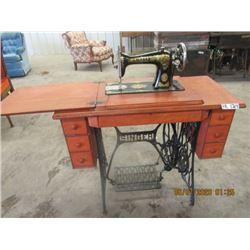 Treadle Singer Sewing Machine - Vintage