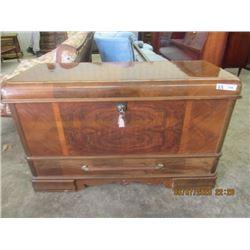 "Cedar Chest w Bottom Drawer- Vintage 27"" x 44"" x 19"""