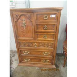 """Oak Dresser 54"""" x 39"""" x 18""""- Modern"""