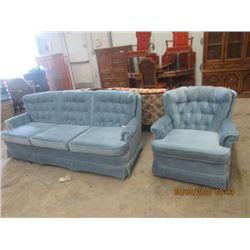 LR Couch & Chair - Modern