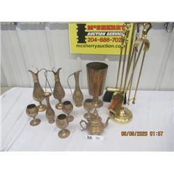 11 Various Brass Pieces