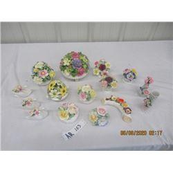 """15 Pcs - Fine Floral China """"Ansley"""" , Royal Adderl Vanity Fair, Balmoral, Cottswold, Royal Stratford"""