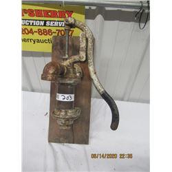 Hand Water Pump - Vintage