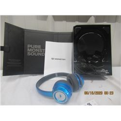Monster Headset N-Tune HD - New Never Used in Case