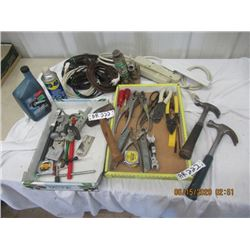 Extension Cords, Power Bars, Hyd Jacks, Hammers, Pliers, Tape Measures, Wrenches- Modern