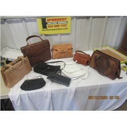 Leather Purses - Vintage & Not Too Old