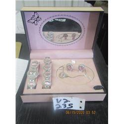 "Ladies ""Bolori"" Watch, Bracelet & Earrings Set"