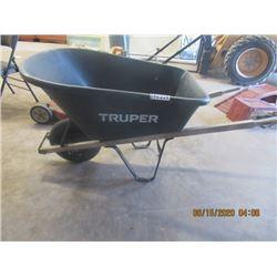 Trouper Wheel Barrel Rubbe Tire Poly Tub