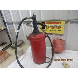 Cast Embossed Fire Alarm Box & Oil Dispenser