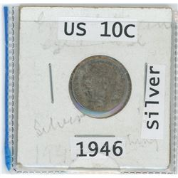 1946 US 10 Cent Coin